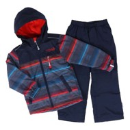 Toddler Boys' Nano Blue Night Stripe Jacket