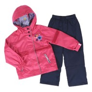 Toddler Girls' Nano Bright Geranium Mix Jacket