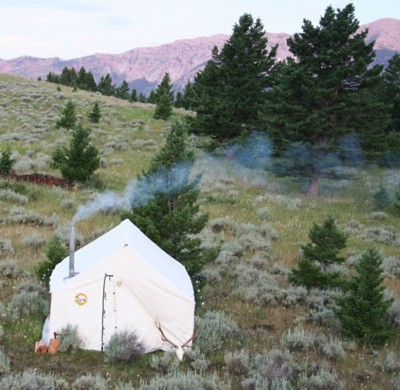 Montana Canvas Traditional 10 Canvas Wall Tent