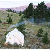 Montana Canvas Traditional 10oz Canvas Wall Tent