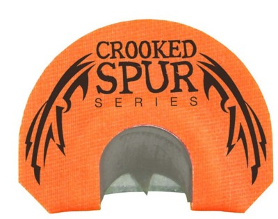 FOXPRO Crooked Spur Series Orange Bat Cut Turkey Mouth Call
