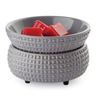 Candle Warmers Etc. Slate Candle 2-in-1 Fragrance Warmer