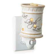 Candle Warmers Etc. Live Laugh Lreams Pluggable Fragrance Warmer