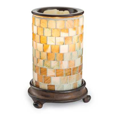 Candle Warmers Etc. Sea Glass Illumination Wax Warmer