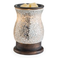 Candle Warmers Etc. Reflection Glass Mosaic Illumination Fragrance Warmer