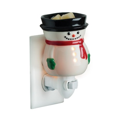 Candle Warmers Etc. Snowman Pluggable Fragrance Warmer