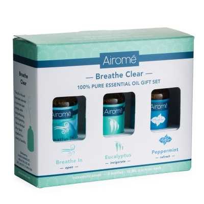 Airomé Breathe Clear Essential Oil Giftset