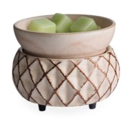 Candle Warmers Etc. Lattice 2-in-1 Classic Fragrance Warmer