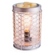 Candle Warmers Etc. Chicken Wire Edison Bulb Illumination Fragrance Warmer