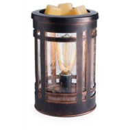 Candle Warmers Etc. Mission Edison Bulb Illumination Fragrance Warmer
