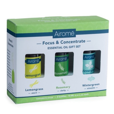 Airomé Focus & Concentrate Essential Oil Giftset