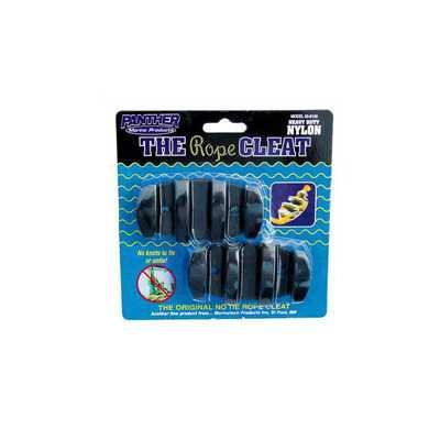 Panther Marine Black Nylon Rope Cleat
