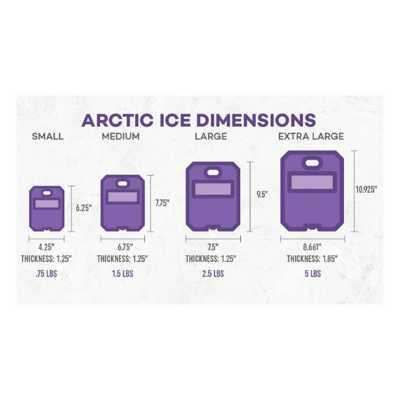 Arctic Ice Tundra Series Ice Pack