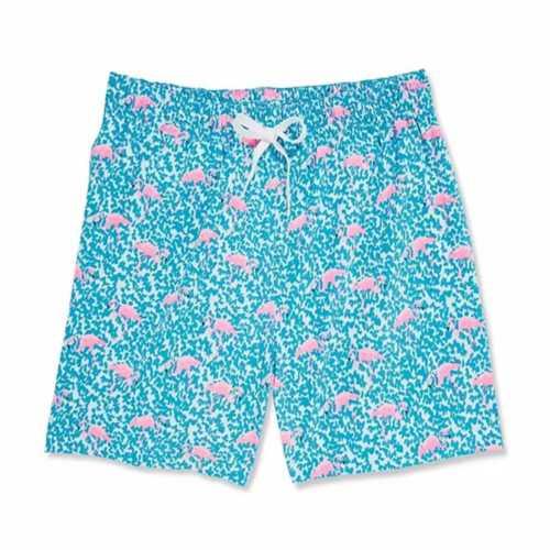 Men's Chubbies Domingos Are For Flamingos Swim Trunks