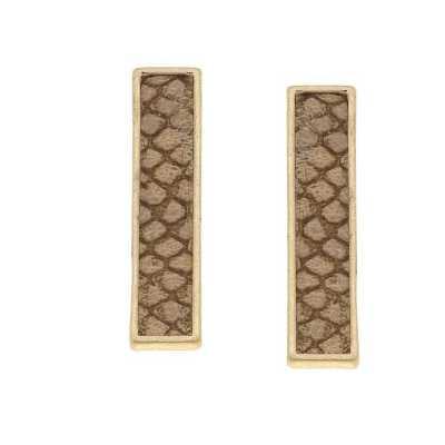 Women's Canvas Style Aerin Bar Earrings