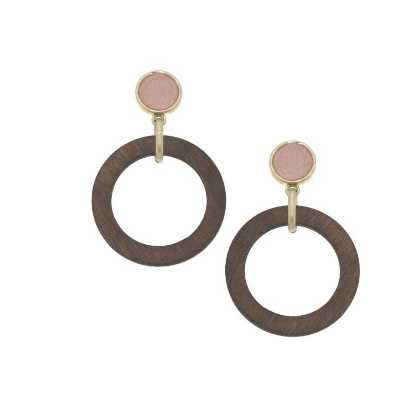 Women's Canvas Style Reese Drop Earrings