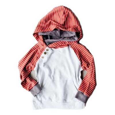 Grey/Red Stripe