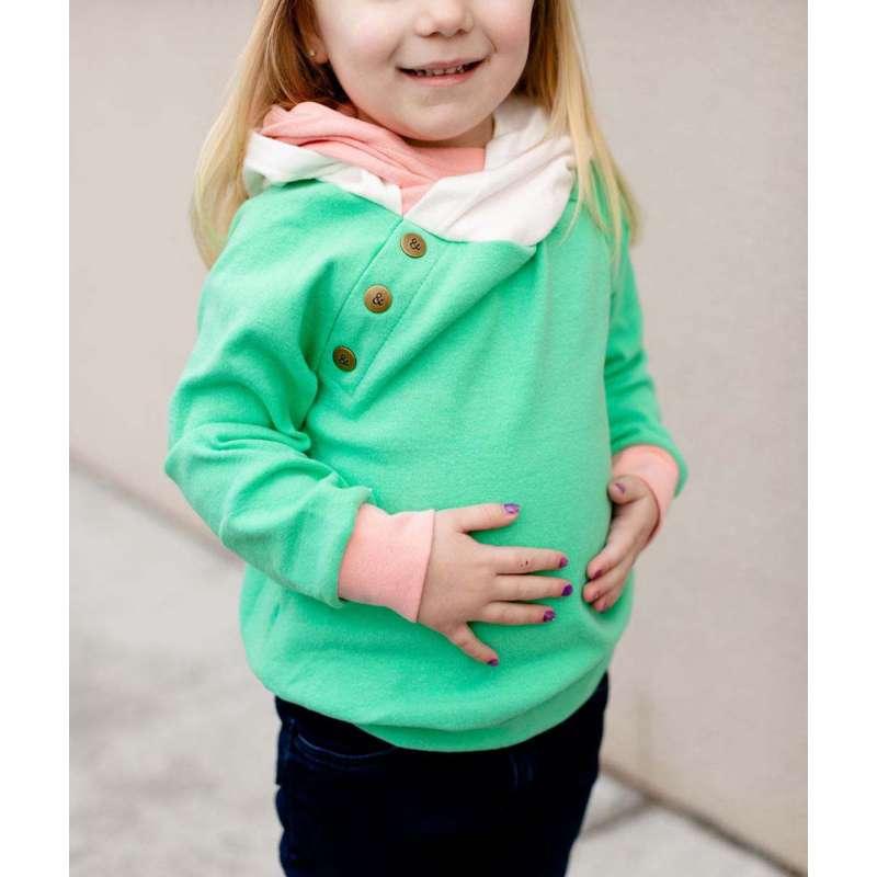 Infant Girls' Ampersand Ave Double Hooded Sweatshirt