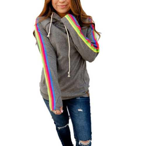Grey Heather Rainbow