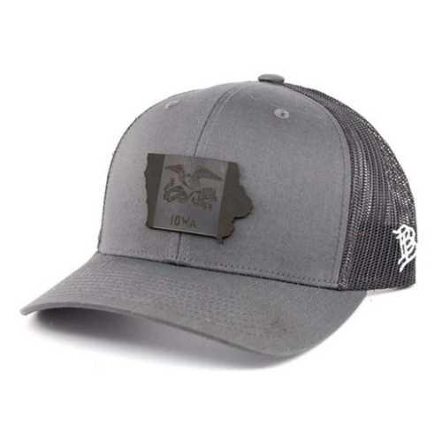 Men's Branded Bill Iowa Midnight Snapback Hat