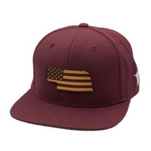 Men's Branded Bill Nebraska Patriot Classic Snapback Hat