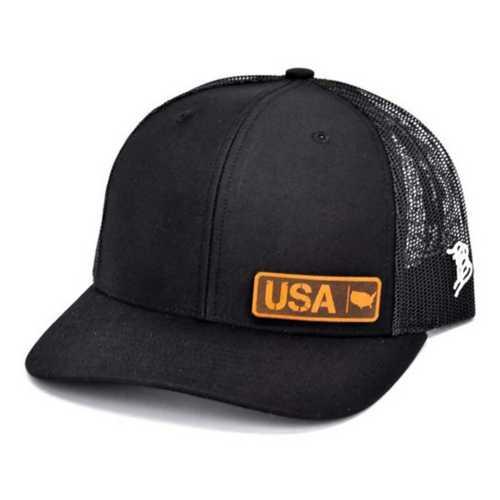 Men's Branded Bill USA Native Curved Trucker Hat
