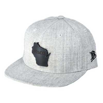 Men's Branded Bill Midnight Wisco Classic Snapback Hat