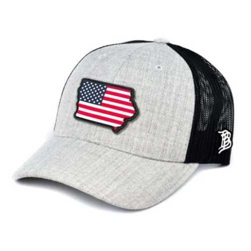 Men's Branded Bill Iowa Rogue Patriot Trucker Hat