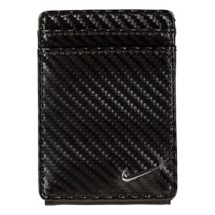 Nike Carbon Fiber Texture Front Pocket Wallet