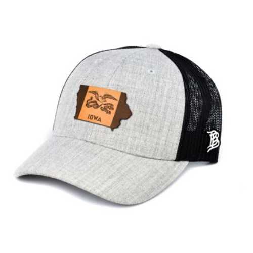 Branded Bill Iowa 29 Curved Trucker Hat
