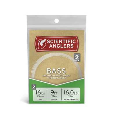 Scientific Anglers Bass Premium Tapered Leader