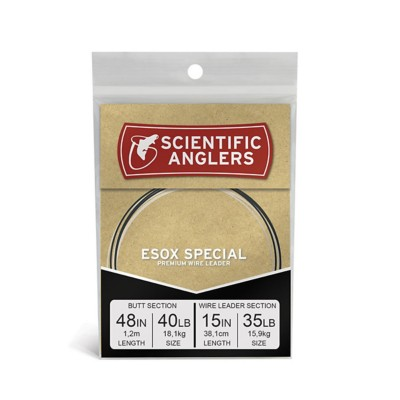 Scientific Anglers ESOX Special Premium Wire Leader