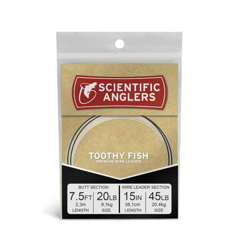 Scientific Anglers Toothy Fish Wire Leader