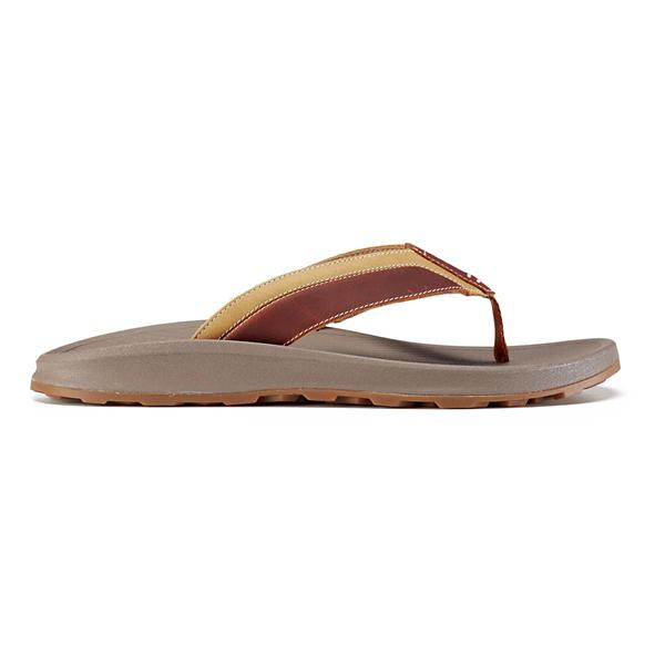 41aab66fd27b Tan Tap to Zoom  Men s Chaco Playa Pro Leather Flip Flop Sandals
