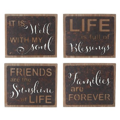 K & K Interiors Square Message Signs