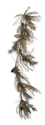 K & K Interiors Fir Grass with Pinecone & Berries Garland