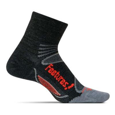Feetures Merino+ Ultra Light Cushion Quarter Socks