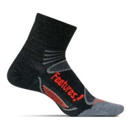 Feetures Merino+ Ultra Light Cushion Quarter Socks