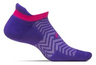 Women's Feetures High Performance Cushion No show Tab Running Socks
