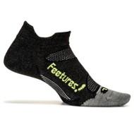 Feetures Merino Ultra Light No Show Tab Athletic Running Socks