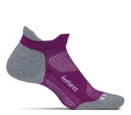 Feetures Elite Max Cushion No Show Tab Athletic Running Socks