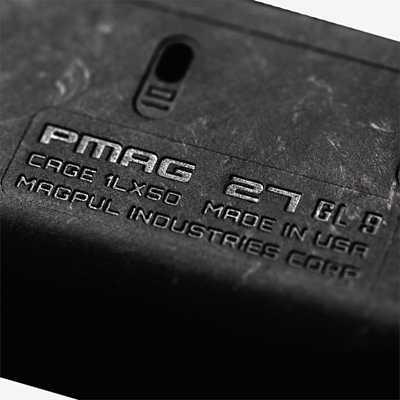 Magpul PMAG 27 GL9 Glock Magazine