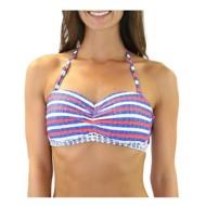 Women's Heat Americana Bandeau Bikini Top