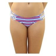 Women's Heat Americana Stripe Bikini Bottom