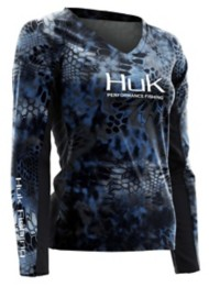 Women's Huk Kryptek Long Sleeve Icon