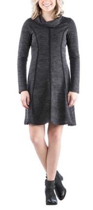 Women's Neesha Cowl Neck Panel Dress
