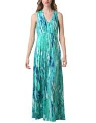 Women's Neesha Printed V-Neck Maxi Dress