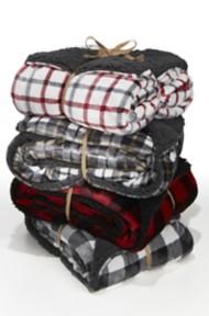 Northpoint Trading Montauk Plaid Throw Blanket