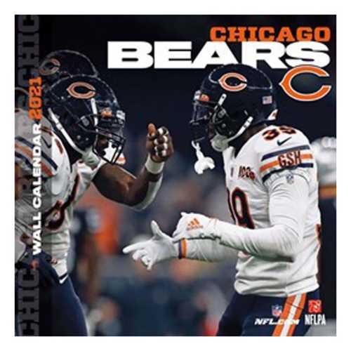 John F Turner Chicago Bears 2021 Wall Calendar
