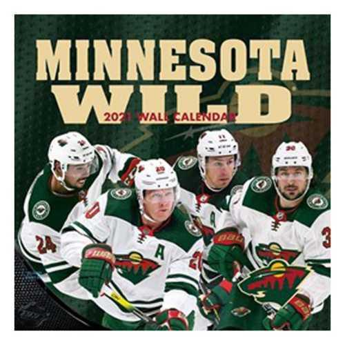 John F Turner Minnesota Wild 2021 Wall Calendar